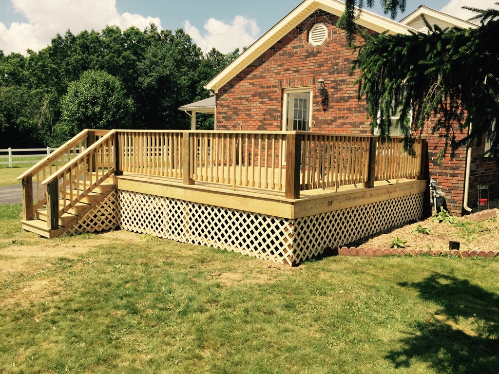 One of 3 porches we repaired using Carol Peterson funds.